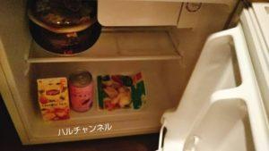 【部屋の冷蔵庫のサイズ感】&AND HOSTEL HOMMACHI EAST