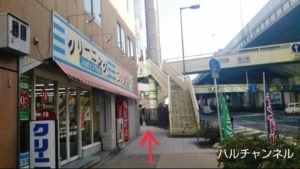 【堺筋本町】&AND HOSTEL HOMMACHI EAST【道順】