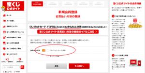 【宝くじ】ネットでの買い方9